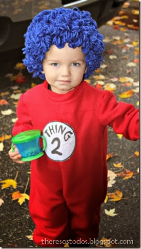 DIY Thing 2 Costume