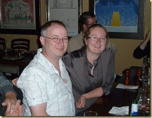 Lisa and Jon at birthday