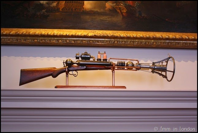 Steampunk airgun at the Queen's House