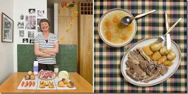 Portraits de grand-mères et leurs plats cuisinés (32)