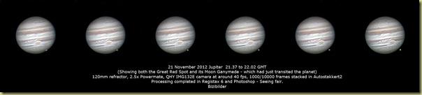 21 November 2012 Jupiter