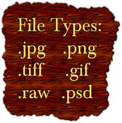 Digital Image File Types