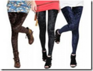 Buy StreetDiva 2 Velvet Trendy Stretchable Legging at Rs. 299