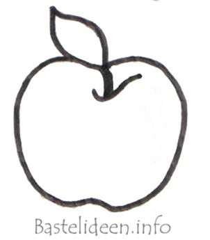 molde maçã