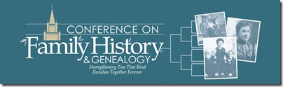 The BYU 2013 Conference on Family History and Genealogy