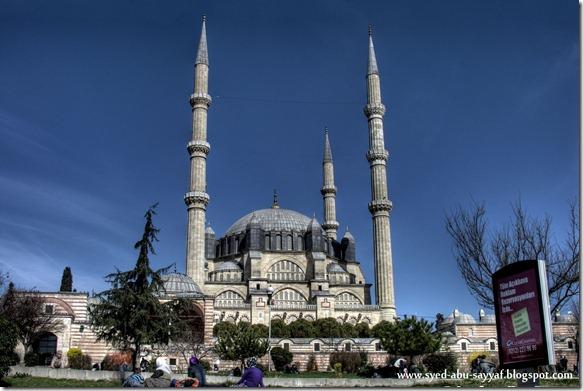 Masjid Selimiye – Edirne, Turki