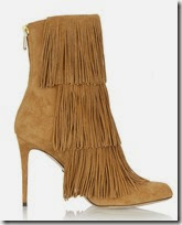 Paul Andrew Fringed Suede Ankle Boots