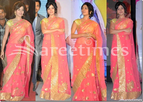 Samantha_Netted_Saree