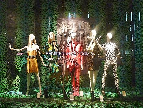 H&M Versace New York Singapore London Hong Kong Tokyo