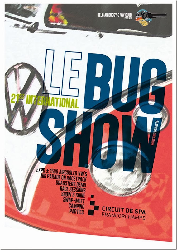 le bug show flyer