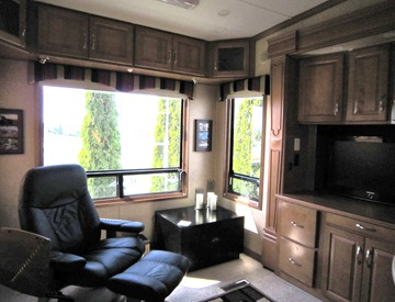 Driving Miss Terry RV Interior Design
