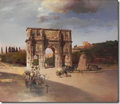 694px-Oswald_Achenbach_Triumphal_Arch_in_Rome