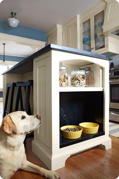 dog food station