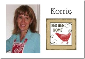 Korrie - Red Hen Home