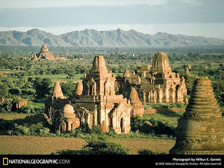 Myanmar: Templele de la Bagan
