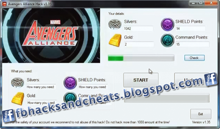 Fb Game Cheats Marvel Avengers Alliance Hack Cheats Tool
