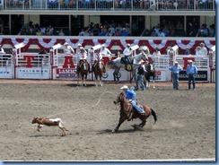 9400 Alberta Calgary - Calgary Stampede 100th Anniversary - Stampede Grandstand - Calgary Stampede Rodeo Tie-Down Roping Championship