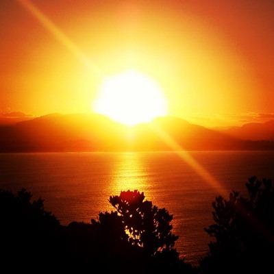 Sunset at Byron Bay