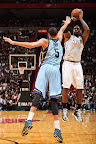 lebron james nba 130301 mia vs mem 21 LeBron Debuts Prism Xs As Miami Heat Win 13th Straight