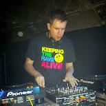 DJ KUTSI at the ANNEX WRECKROOM in Toronto, Ontario, Canada