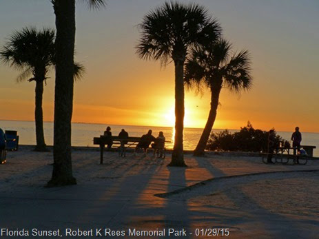 Florida Sunset, Robert K Rees Memorial Park