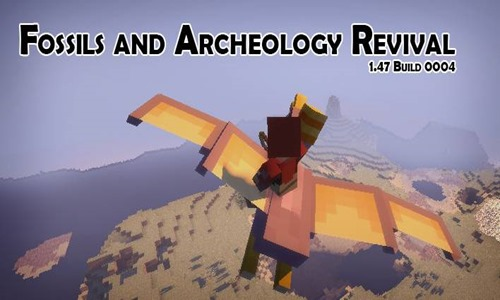 Minecraft 1.5.2 – Fossil and Archeology Revival