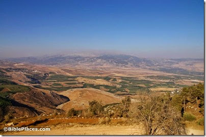 Mount Hermon and Abel Beth Maacah from Misgav Am, adr08070895011