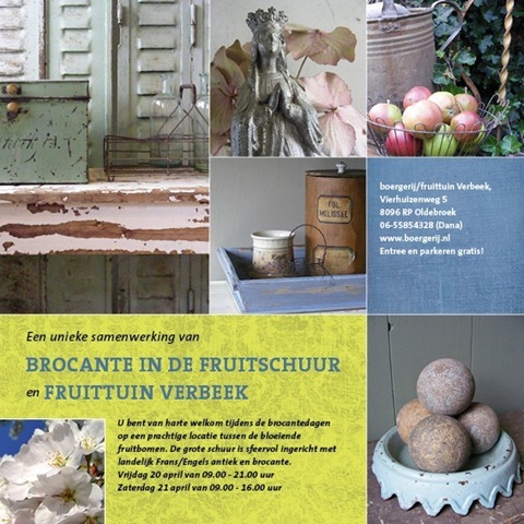 brocante in de fruitschuur 2012