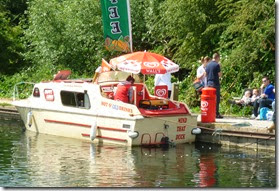 7 ice cream boat cheshunt