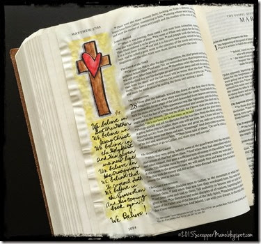 We Believe Bible Journaling