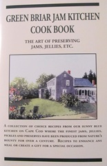 Cape Cod Columbus weekend 2012..Sat. Green Brier Jam kitchen cookbook