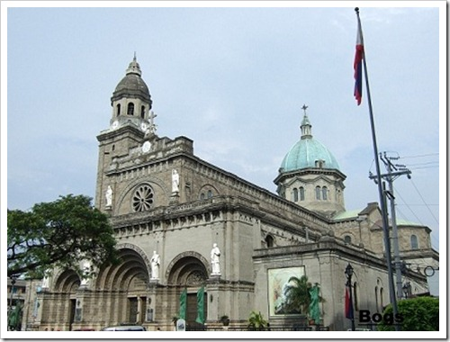 Manila Cathedral Today