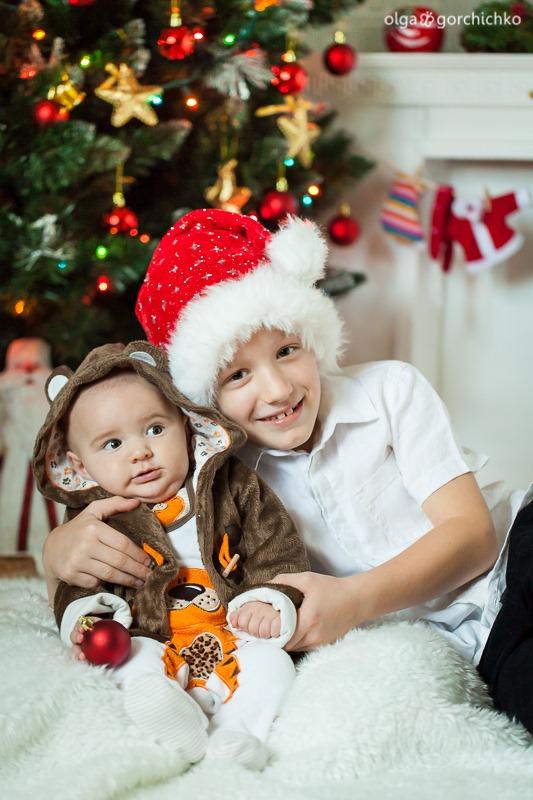 Детский новогодний фотопроект Рождественские мечты. 22. Никита и Егор (Наташа Маркова)-0194