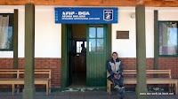 argentinische Grenzstation