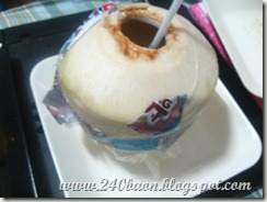dole fresh buco, by 240baon