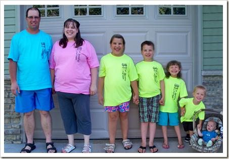 StBrigids Family Tshirts