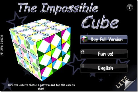 The Impossible Cube LITE