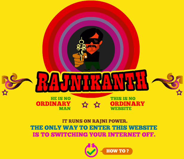 Rajnikants Website