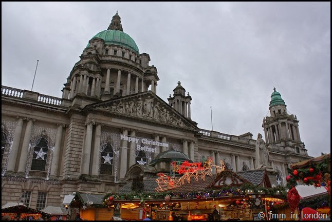 The Christmas Market at City Hall Belfast
