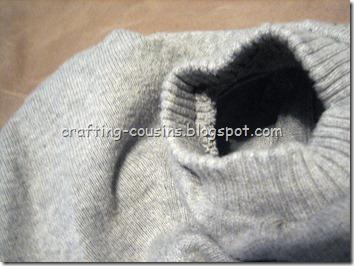 Gray Sweater Refashion (4)