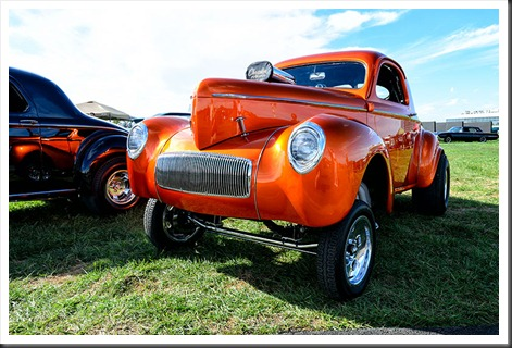 Tom Venezia's 1941 Willys Gasser