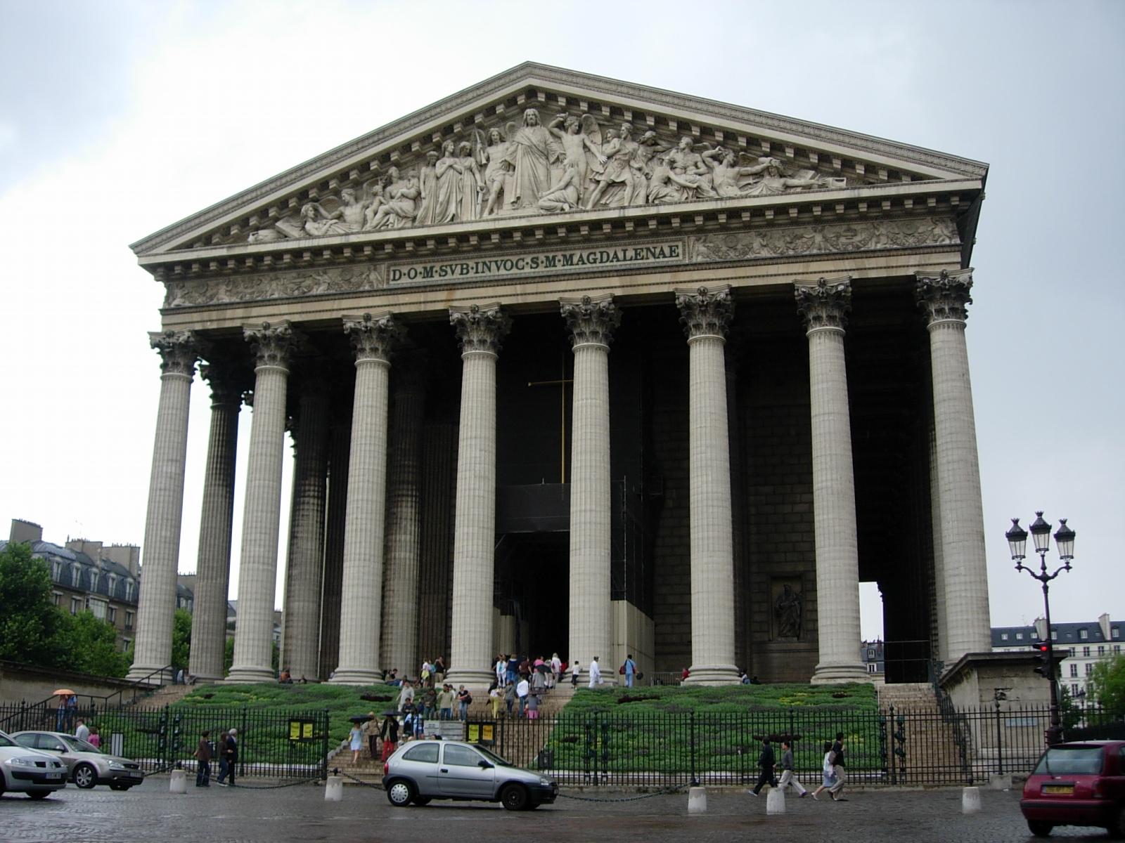 Eglise de la madeleine nicolas79 voyages d couvertes - Monument la madeleine ...