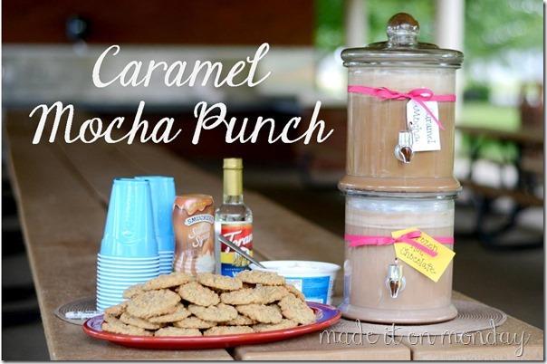 caramel mocha punch 1