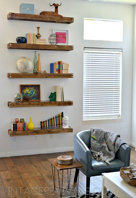 How To Stage Shelves