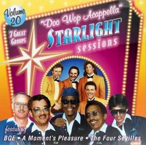 Doo Wop Acappella Starlight Sessions - Volume 20 - Front Cover