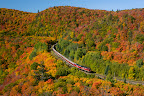 Agawa Canyon Fall Train Tour through incredible scenery.