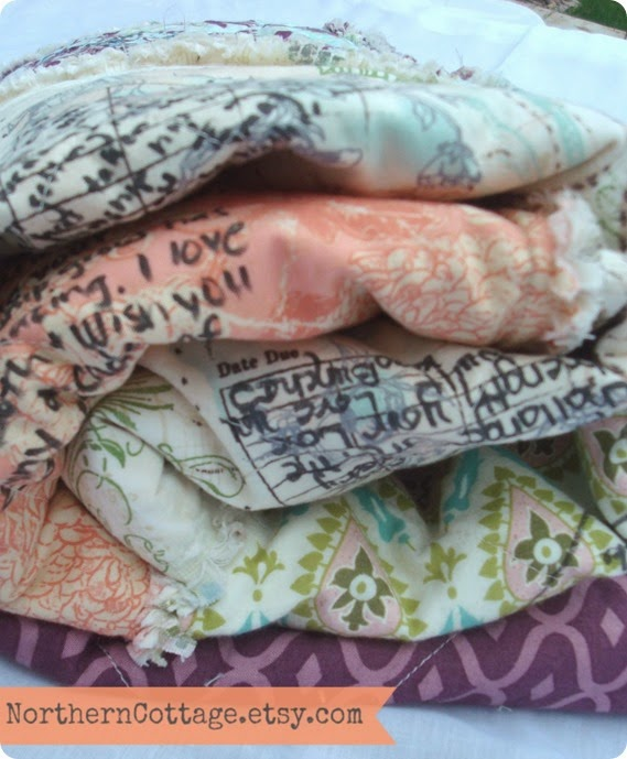 Custom Wedding Guestbook Quilt {NorthernCottage}