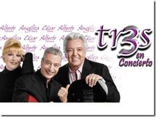 los tres en concierto en gdl 2013