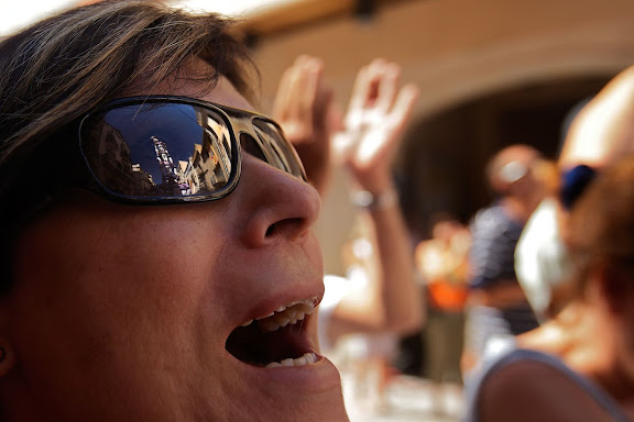 Colla Jove dels Xiquets de Tarragona, 4 de 9 amb folre. Diada castellera de la festa major de l'Arboç. L'Arboç, Baix Penedès, Tarragona