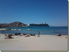 Kusadasi Beach and Silhouette (Small)